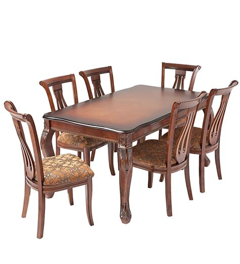 nilkamal dining set 1 table and 6 chairs by