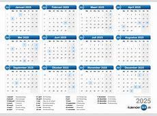 Kalender 2025