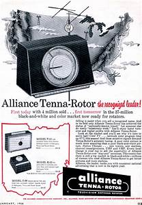Vintage Alliance Model U-100 Tenna-rotor Installation  Kirt U0026 39 S Cogitation  301
