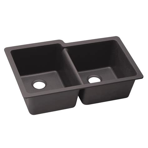 elkay kitchen sinks undermount elkay premium quartz undermount composite 33 in 7049