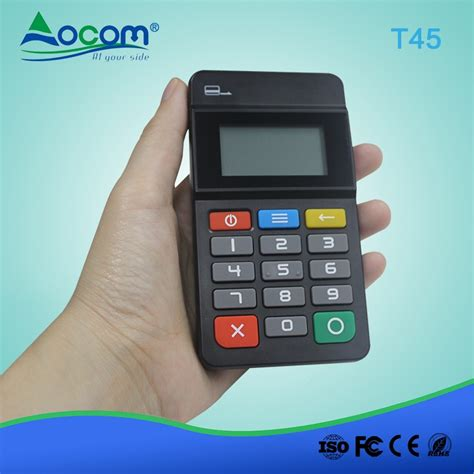 mobile payment pos pos t45 mini handheld payment pos