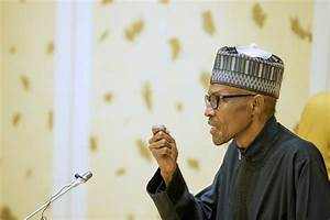 """Nigeria's Unity NOT Negotiable""-President Buhari Says In ..."