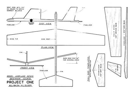 blueprints  balsa wood glider workbench plans  pegboard
