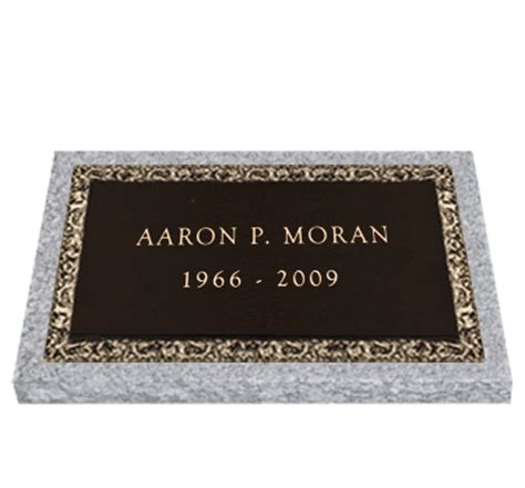 bronze headstone 24x12 individual headstones and memorials