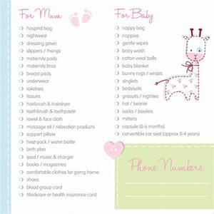 Newborn Baby Checklist Pdf Free 9 Newborn Checklist Templates In Google Docs Ms