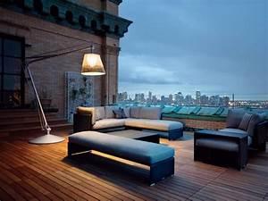 Lampadaire Exterieur Terrasse : l 39 clairage ext rieur en 15 id es de lampes de design exclusif ~ Teatrodelosmanantiales.com Idées de Décoration