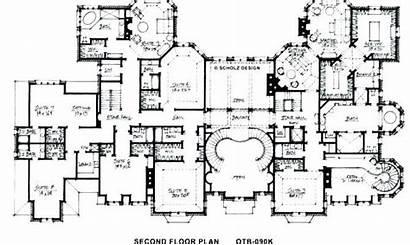 Mansion Plans Floor Huge Modern Plan Luxury