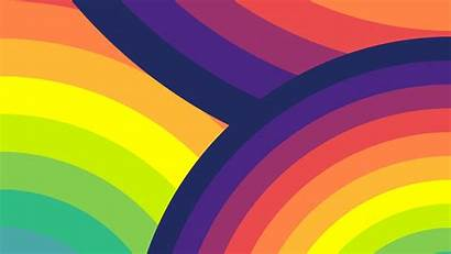 Rainbow Colorful 4k Circles Wallpapers Uhd Arc