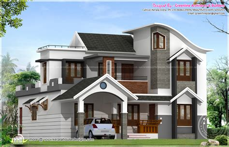 modern style house plans modern house architecture in kerala kerala home design and floor plans