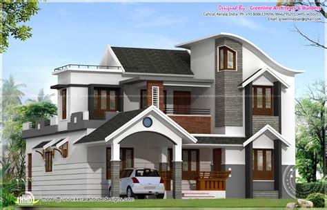 Modern House Architecture In Kerala  Kerala Home Design