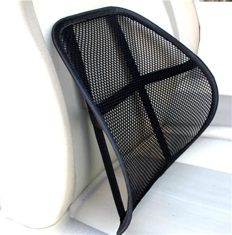 auto cool breathable mesh support lumbar support cushion