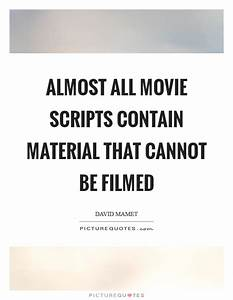 Almost all movi... Material Movie Quotes