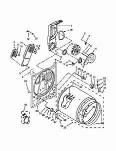 Kenmore 11062332511 Dryer Parts