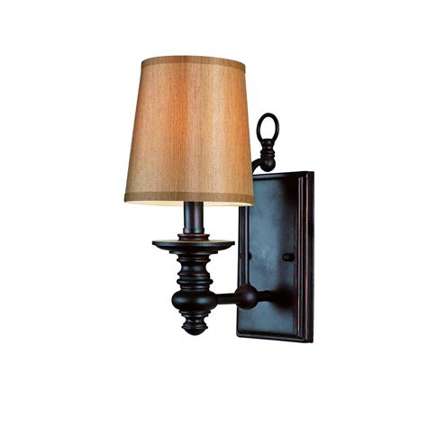 bronze and wall sconces bel air lighting henderson 1 light rubbed bronze