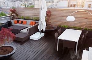 Pflanzen Für Dachterrasse : terrassengestaltung ohne erdaufbau von living garden ~ Bigdaddyawards.com Haus und Dekorationen