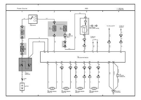 toyota corolla ignition system wiring diagram wiring diagram