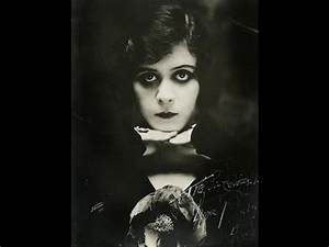 Theda Bara Silent Movie Star Edwardian/1920s Vamp Makeup ...