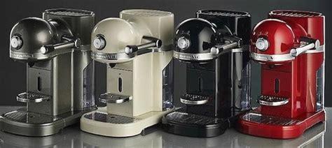 nespresso  kitchenaid review  elegant machine