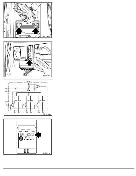 Bmw E36 Heater Wiring Diagram by Bmw Workshop Manuals Gt 3 Series E36 325tds M51 Tour Gt 2