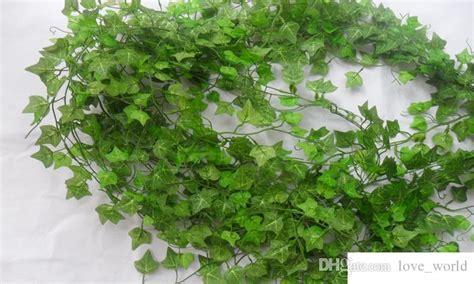 2019 250cm Plastic Climbing Vines Simulation Green Leaf