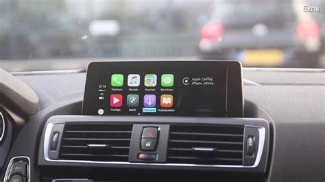 Demonstratie En Instructie Apple Carplay In Uw Bmw