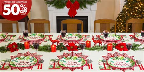 party city christmas decorations traditional classic decorations tableware city canada