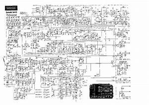 Grundig Satellit 3400 Professional Sch Service Manual