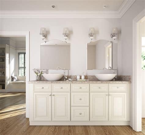 white bathroom cabinet cambridge antique white glaze ready to assemble bathroom