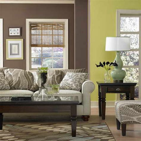Living Room Ideas Green Brown by Lime Green And Brown Living Room Home Decoration