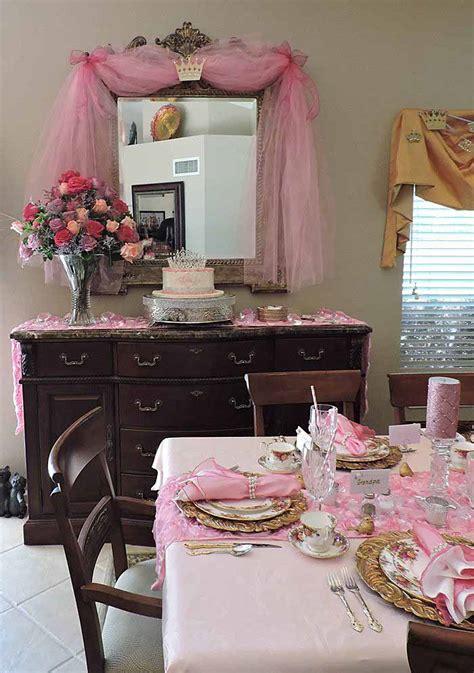 princess themed baby shower table  royal albert