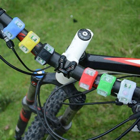Hot Selling New Silicone Bicycle Safety Lighting Led Light Lamp Flashlight Bike 6color Bu Bike