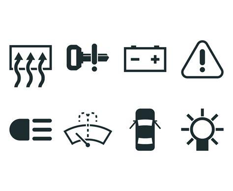 Car Dashboard Icon Vector Art & Graphics