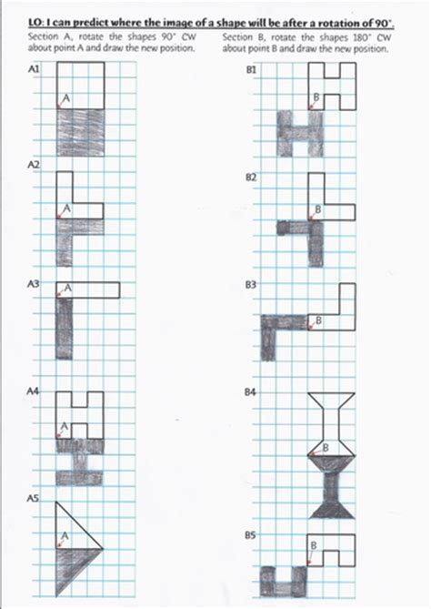 Year 6 Rotation Worksheet By Rjsenior  Teaching Resources Tes
