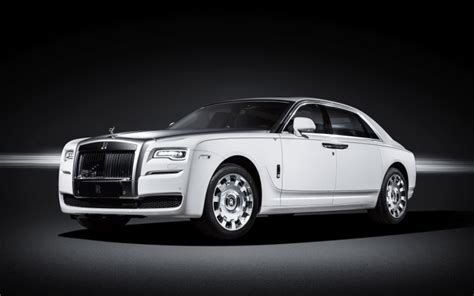 Rolls-royce Debuts Ghost 'eternal Love' Model For China