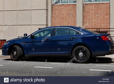 Unmarked Police Car Stock Photos & Unmarked Police Car