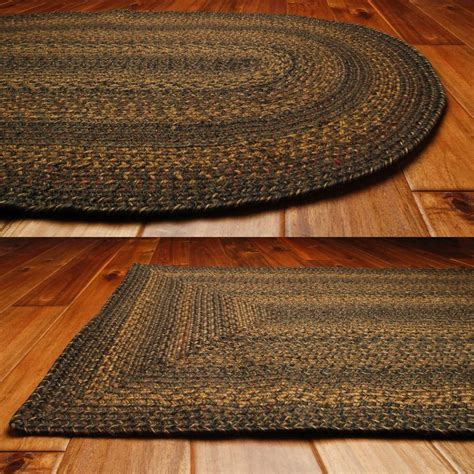 jute rug 8x10 country jute braided area throw rugs oval rectangle 20x30