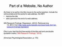 Annotated Bibliography Apa Website No Author Annotated Bibliography Represent The Most Common Types Of In Text Citations In APA Format Apa Journal In Text Citation Best Photos Of Apa Format For Newspaper In Text Citations YouTube