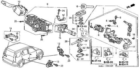 Honda Online Store Crv Combination Switch Parts