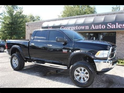 Dodge Cummins For Sale In Ky by Sold Used 2012 Lifted Ram 2500 Slt Cummins Diesel Lift Kit