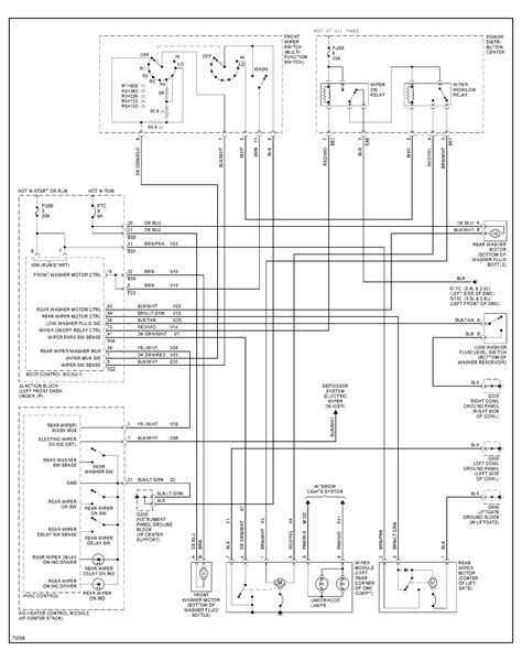 Wiring Diagram 1996 Plymouth Voyager by I A 1996 Plymouth Voyager The Windshield Wipers Cycle