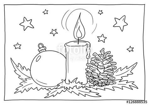 ausmalbild weihnachtsgesteck stockfotos und lizenzfreie