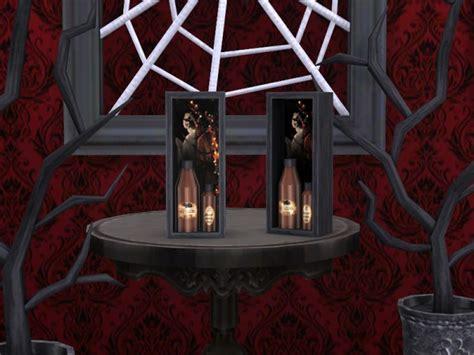 sims resource gothic decor set  soloriya sims