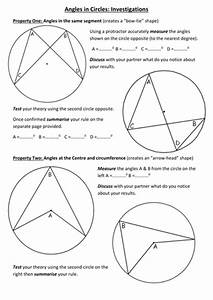 Circle Theorem U0026 39 S Lesson By S Curzon - Teaching Resources