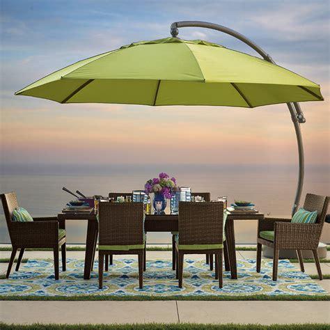13 european side mount patio umbrella traditional