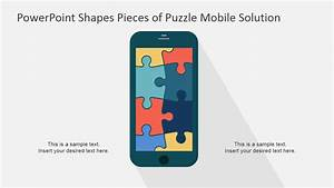 Ppt Template Mobile Puzzle