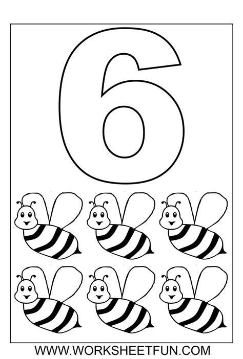 numbers colouring sheets  teaching  year olds