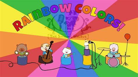 de colores song rainbow colors song colors song for the singing