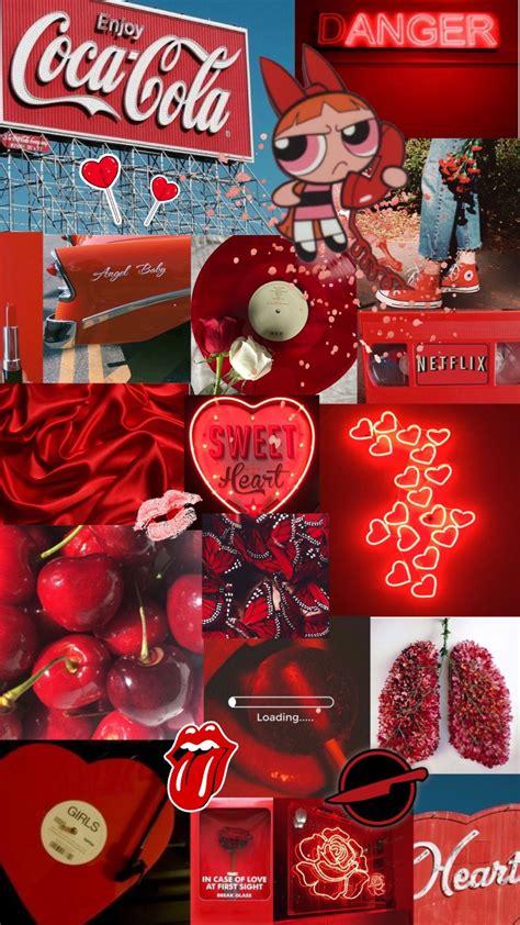 red aesthetic wallpaper  wallpapersafari