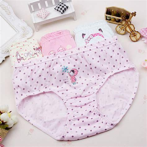 Cotton Kids Underwear Panties Girls Baby Pants Cute Girls