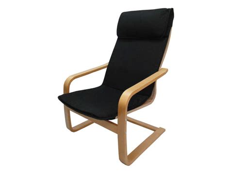 chaise à bascule allaitement fauteuil en tissu paz coloris noir vente de tous